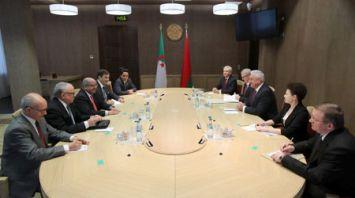 Мясникович встретился с министром иностранных дел Алжира