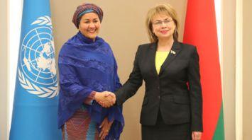 Щеткина встретилась с первым заместителем Генерального секретаря ООН