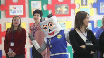 """Около 400 проектов представили участники регионального этапа """"Энергомарафона"""" в Гомельской области"""