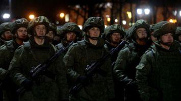 В Гродно прошла репетиция парада к 100-летию Вооруженных Сил