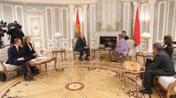 Лукашенко встретился с первым заместителем Генерального секретаря ООН