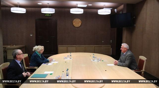 Мясникович встретился с министром по интеграции и макроэкономике ЕЭК