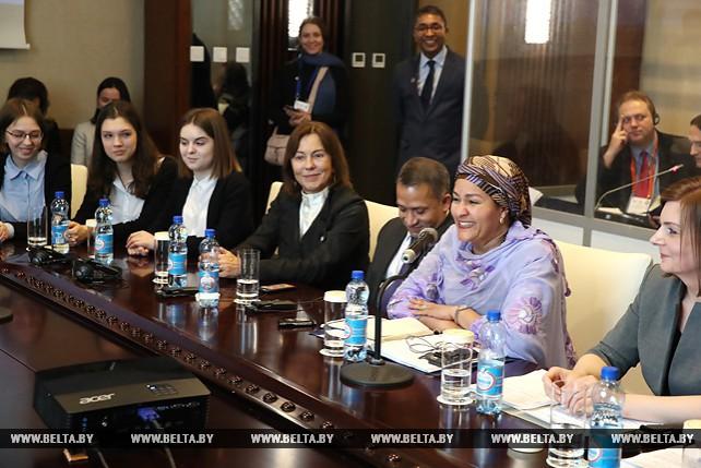 Первый заместитель Генсекретаря ООН встретилась с белорусской молодежью