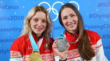 Белорусские медалистки Олимпиады