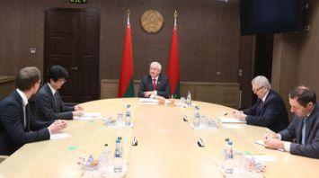 Мясникович встретился с заместителем генерального директора ЮНИДО