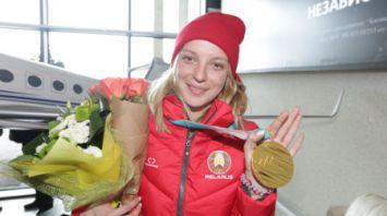 Анна Гуськова вернулась из олимпийского Пхенчана
