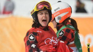 Канадская фристайлистка Серва стала олимпийской чемпионкой в ски-кроссе