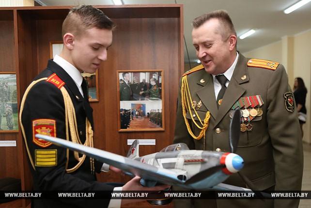 Музей истории армии открыли в Гродненском областном кадетском училище