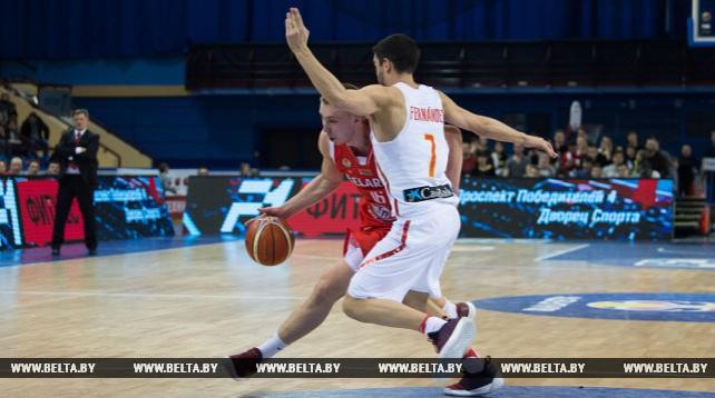 Белорусские баскетболисты уступили сборной Испании в квалификации ЧМ-2019