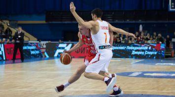 Баскетбол Беларусь-Испания