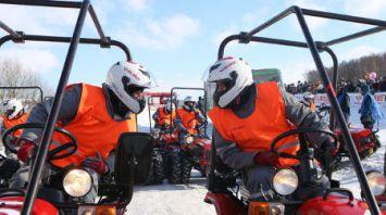 Соревнования по тракторному биатлону прошли в Сморгонском районе