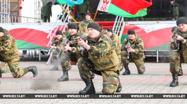 Военно-спортивный праздник прошел в Бресте