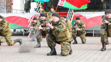 Военно-спортивный праздник в Бресте