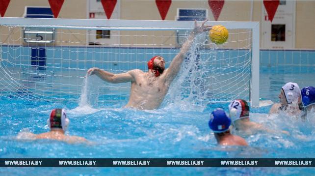 Сборная Беларуси по водному поло победила команду Мальты в матче ЧЕ