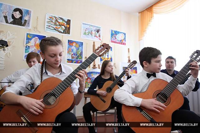 Пять новых учебных классов открылись в Могилевской детской школе искусств №7