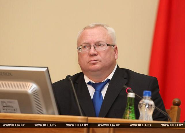 Владимир Терентьев избран председателем Витебского областного Совета депутатов