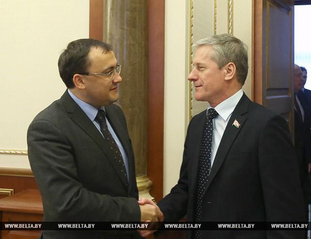 Пирштук встретился с заместителем министра иностранных дел Украины