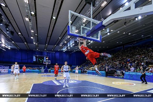 Белорусские баскетболисты победили чемпионов Европы в квалификации ЧМ