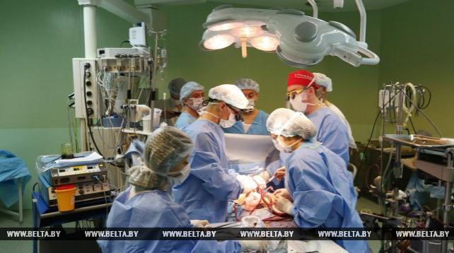 Кардиохирурги из Германии изучают опыт Беларуси в проведении операций с использованием 3D-модели