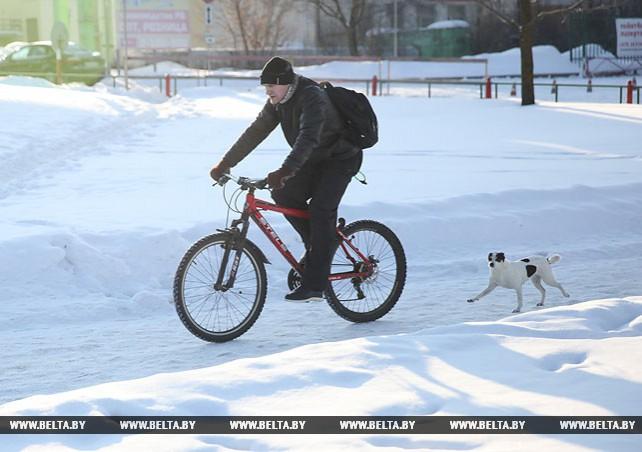 В Витебске утром 27 февраля было минус 20
