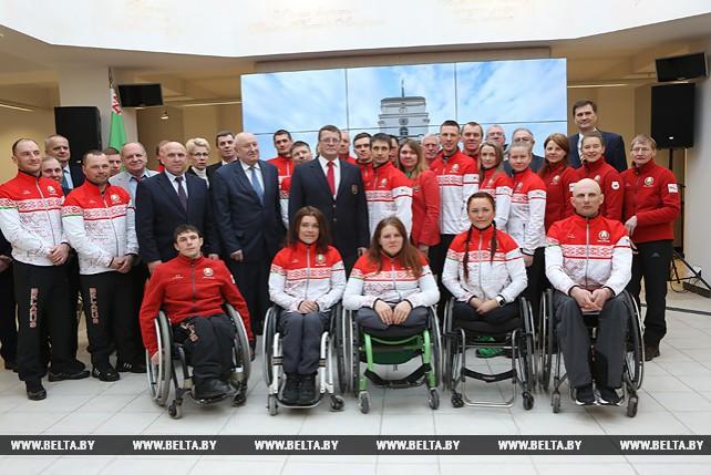 Беларусь на зимней Паралимпиаде-2018 представят 15 спортсменов, знаменосцем будет Людмила Волчек