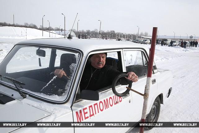 Конкурс профмастерства водителей санитарного транспорта прошел в Могилевском районе