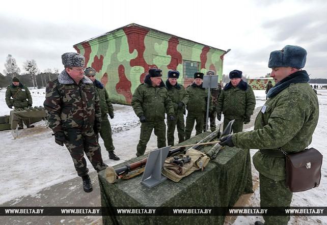 """Сборы """"Военная безопасность и оборона государства"""" состоялись в Барановичском районе"""