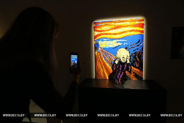 """Выставка """"The Art of the Brick. Искусство лего"""" открылась в Минске"""
