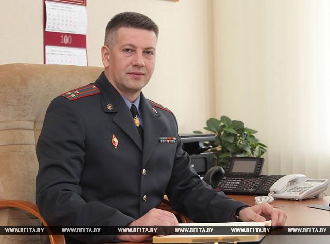 Начальник УВД Могилевского облисполкома И.Щербаченя