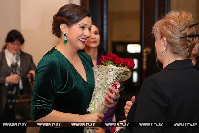 Встреча с супругами глав дипмиссий прошла в Большом театре Беларуси