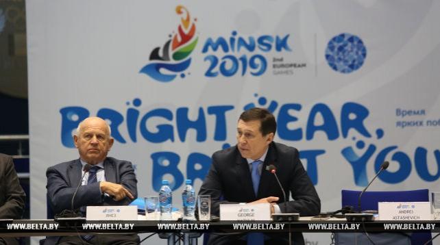 В Минске проходит встреча представителей ЕОК с руководством и менеджерами дирекции Евроигр-2019