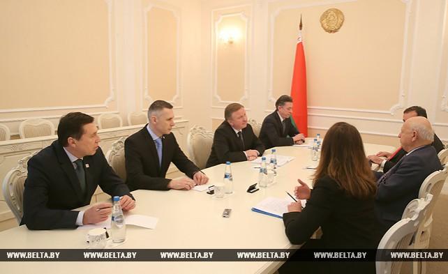 Кобяков встретился с президентом Европейских олимпийских комитетов