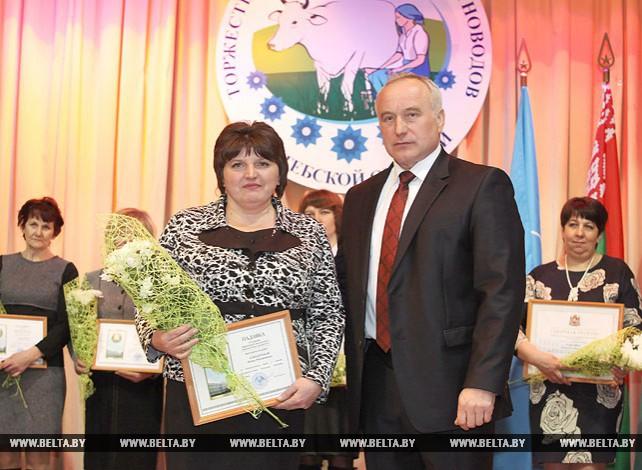Лучших животноводов региона чествовали в Витебске