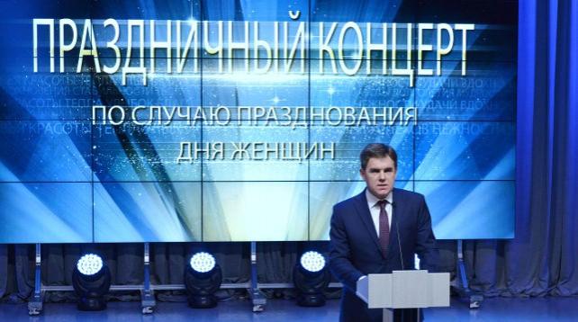 Праздничный вечер к Международному женскому дню прошел в посольстве Беларуси в Москве