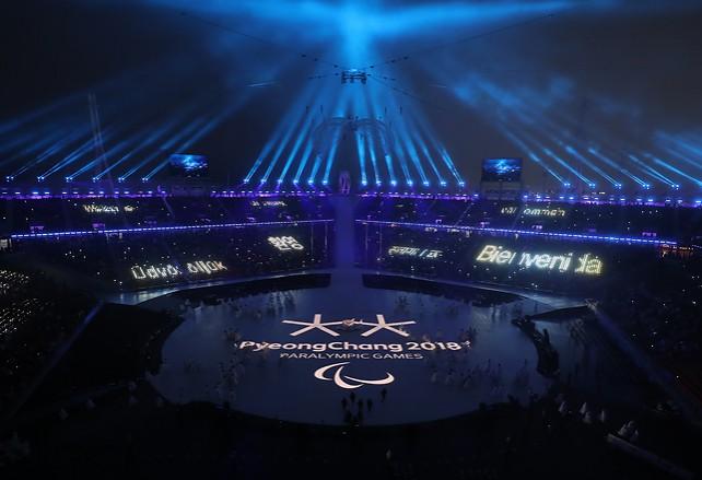 Церемония открытия Паралимпийских игр прошла в Пхенчхане
