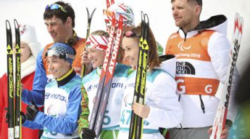 Белоруска Светлана Сахоненко завоевала золото в Пхенчхане