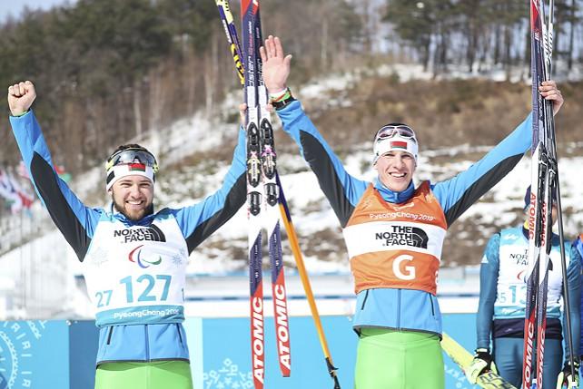 Четыре награды в биатлоне завоевали белорусы на старте Паралимпийских игр в Пхенчхане