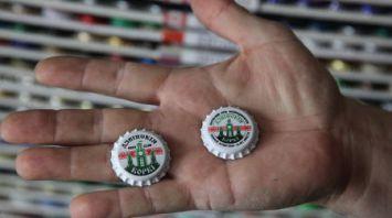 Коллекцию пивных пробок из 160 стран мира собрал житель Витебска