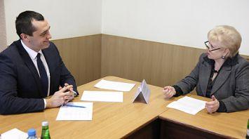 Субботин провел выездной прием граждан в Полоцке