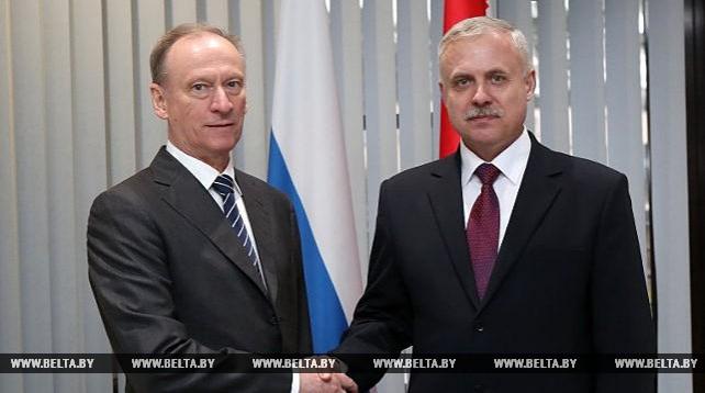 Зась и Патрушев обсудили вопросы сотрудничества в сфере безопасности