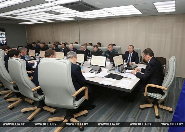 Вопросы подготовки к паводку обсуждаются на комиссии по ЧС при Совмине