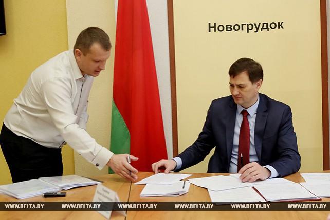 Рыженков провел прием граждан в Новогрудке