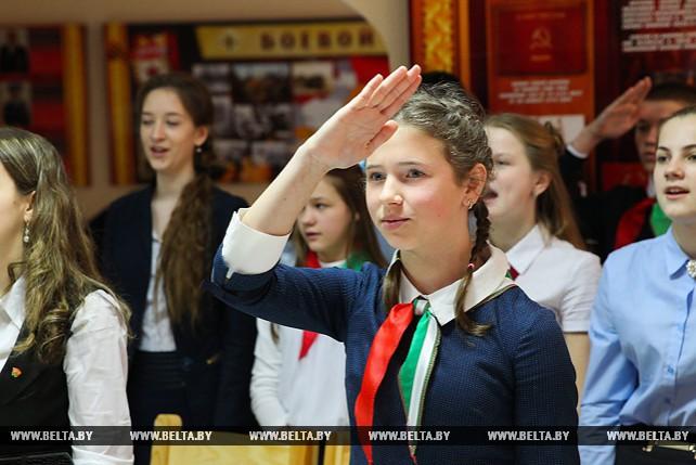 """Акция """"Мы - граждане Беларуси"""" прошла в 38-й десантно-штурмовой бригаде"""