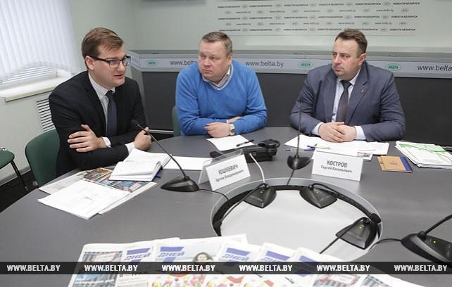 Прямая линия о порядке изъятия и предоставления участков прошла в пресс-центре БЕЛТА