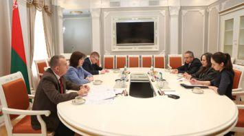 Кочанова встретилась с ректором Высшей школы подготовки кадров государства и правительства Кубы