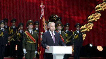 Торжественное собрание к 100-летию внутренних войск МВД Беларуси
