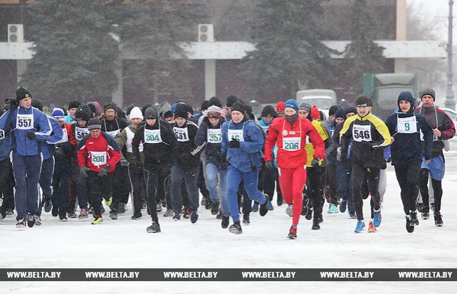Легкоатлетический пробег, посвященный 100-летию внутренних войск, прошел в Гомеле