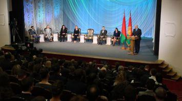 Лукашенко провел встречу с творческой молодежью Беларуси