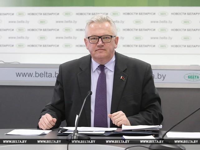 Онлайн-конференция с министром образования Беларуси прошла на сайте БЕЛТА