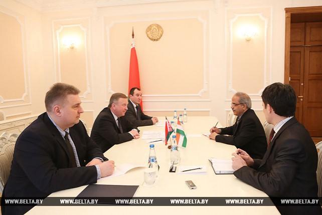 Кобяков встретился с послом Индии